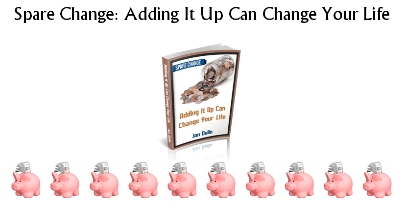 Spare Change Adding It Up Can Change Your Life Header