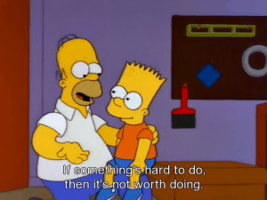 the simpsons worst financial advice