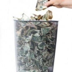 spending money each year